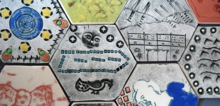 Tile Panel (detail)