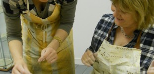Exploratory Workshops. A practical clay workshop in the education space at Coburg House Studios. Photography: Susan Humble.